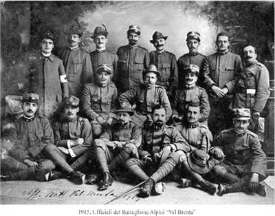 Ufficiali Battaglione Val Brenta