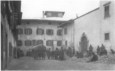 Prigionieri di guerra serbi a VillaL
