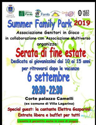 Summer park famyli
