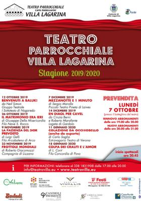 Stagione teatrale 2019 2020