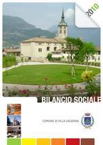 Copertina bilancio sociale 2010