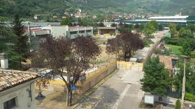 Area cantiere parcheggio interrato