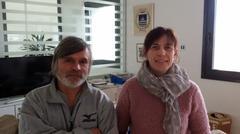 Il presidente della Polisportiva Claudio Pedri con la sindaca Romina Baroni