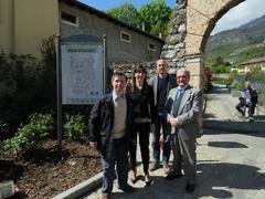 Leonardo Lasta, Romina Baroni, Marco Vender e Gino Lasta