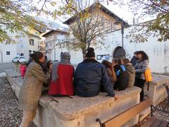Alla fontana delle angurie con Mario Zandonai e Luisa Bettini