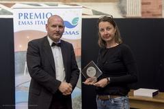 Aldina Brentegani ritira il premio