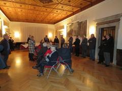La Sala Nobile durante un recente evento pubblico