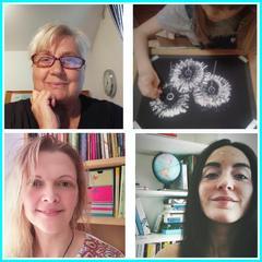 Nella foto Patrizia Pucci, Sara Pinter e Alessia Zanini